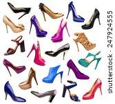 Multicolored Female Shoes...