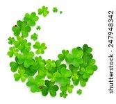 green swirl made of vector... | Shutterstock .eps vector #247948342