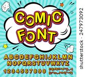 creative high detail font for... | Shutterstock .eps vector #247973092