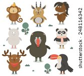 animals icon _illustration | Shutterstock .eps vector #248116342