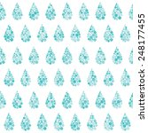 rain pattern | Shutterstock .eps vector #248177455
