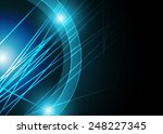 blue abstract background | Shutterstock .eps vector #248227345