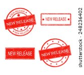 set of rubber stamp with text... | Shutterstock .eps vector #248236402