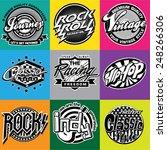 logo music | Shutterstock .eps vector #248266306