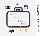 business infographic | Shutterstock .eps vector #248275906