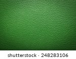 Green Leatherette Texture As...
