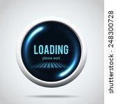 illustartion of modern glowing  ... | Shutterstock .eps vector #248300728