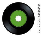 New Gramophone Vinyl. Black...