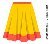 skirt | Shutterstock .eps vector #248314585