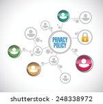 privacy policy people network... | Shutterstock .eps vector #248338972
