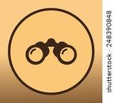 binoculars vector icon | Shutterstock .eps vector #248390848