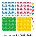 heart birds | Shutterstock .eps vector #248411446