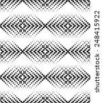 black and white geometric... | Shutterstock .eps vector #248415922