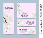 flowers invitation template... | Shutterstock .eps vector #248422936