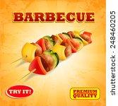barbecue banner | Shutterstock .eps vector #248460205