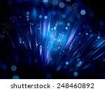 Blue Plasma Field With...