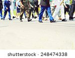 military feet | Shutterstock . vector #248474338
