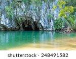 the underground river of puerto ... | Shutterstock . vector #248491582
