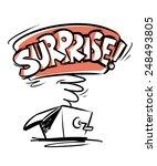 surprise | Shutterstock .eps vector #248493805