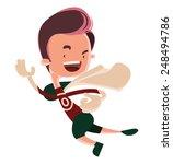 Running Man Superhero Comic...
