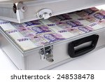 Czech Money   Banknotes In A...