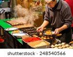 osaka  japan   december 27  a... | Shutterstock . vector #248540566