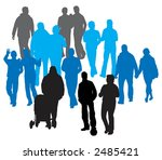 vector people | Shutterstock .eps vector #2485421