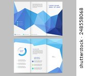abstract colored brochure...   Shutterstock .eps vector #248558068