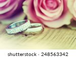 wedding rings. | Shutterstock . vector #248563342