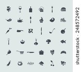 set of icons | Shutterstock .eps vector #248572492