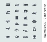 set of icons | Shutterstock .eps vector #248572522