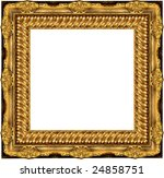 a picture frame on a white | Shutterstock . vector #24858751
