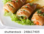 Grilled Squid Stuffed With...