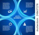 business corporate template...   Shutterstock .eps vector #248657278
