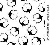 cotton seamless pattern. | Shutterstock . vector #248664166
