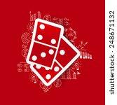 drawing business formulas ... | Shutterstock .eps vector #248671132