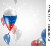 independence day. russian flag... | Shutterstock .eps vector #248678122