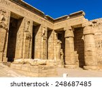 mortuary temple of ramses iii.... | Shutterstock . vector #248687485