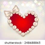 valentine's day heart shaped...   Shutterstock .eps vector #248688865