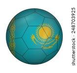 design soccer ball flag of...   Shutterstock .eps vector #248703925