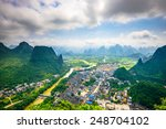 karst mountain landscape and... | Shutterstock . vector #248704102