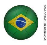 design soccer ball flag of... | Shutterstock .eps vector #248704408