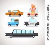 car flat icon set 2 | Shutterstock .eps vector #248721862