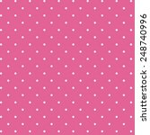 polka dot fabric design. retro... | Shutterstock . vector #248740996
