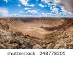 Arizona Meteor Crater  Usa