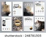 set of design templates for... | Shutterstock .eps vector #248781505