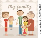 illustration of family | Shutterstock .eps vector #248786182