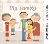 illustration of family | Shutterstock .eps vector #248786182