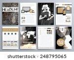 set of design templates for... | Shutterstock .eps vector #248795065