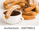 Deliciuos Spanish Churros With...